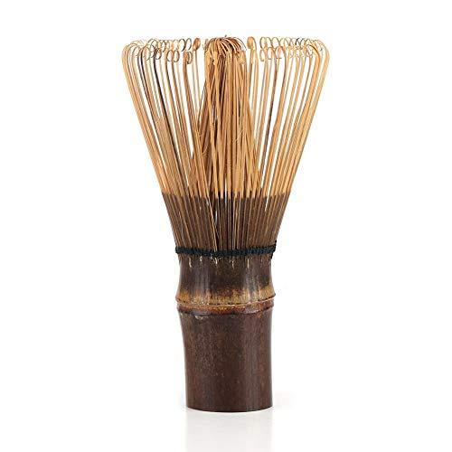 Eastbuy Matcha-Schneebesen - 80 Zinken natürlicher Bambus-Chasen Matcha-Schneebesen Grüner Tee-Pulver-Bürstenwerkzeug