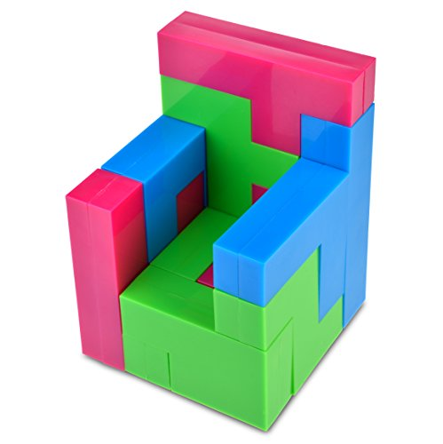 Discovery Toys PENTOMINOES Brain Teaser Logic Puzzle   2-D and 3-D Puzzle   Kid-Powered Learning   STEM Toy Early Childhood Development 8 Years and Up