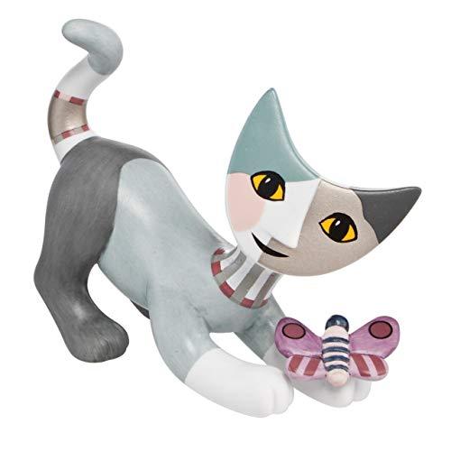 Goebel Minikatzen, Porzellan, Mehrfarbig, 8.5x3.5x6 cm