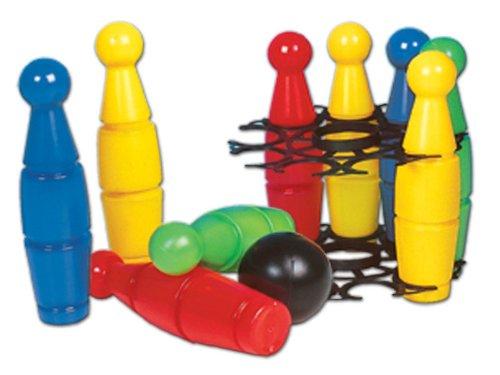 Glow2B Spielwaren 1000077 Keine Gro&szliges Kegelspiel 10-teilig