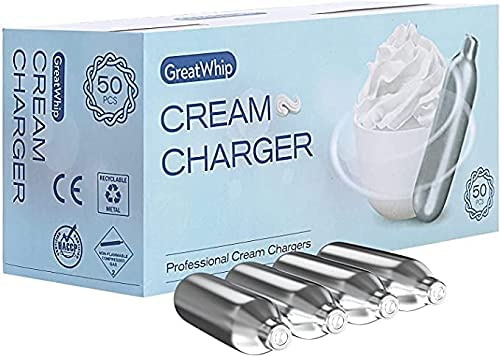 GreatWhip Whipped Limited price cream sold out 300 Count Charger