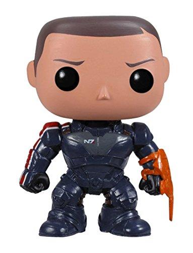 Funko 3337 POP Vinyl Mass Effect Commander Shepard Figure