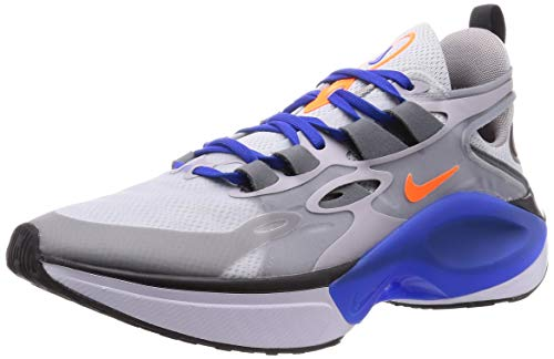 Nike Signal D/MS/X Uomo Running Trainers AT5303 Sneakers Scarpe (UK 7.5 US 8.5 EU 42, Pure Platinum Total Orange 004)