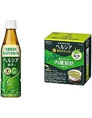 【セット買い】[トクホ]ヘルシア 緑茶 スリムボトル 350ml×24本+【機能性表示食品】ヘルシア 茶カテキンの力 緑茶風味 スティック×30本