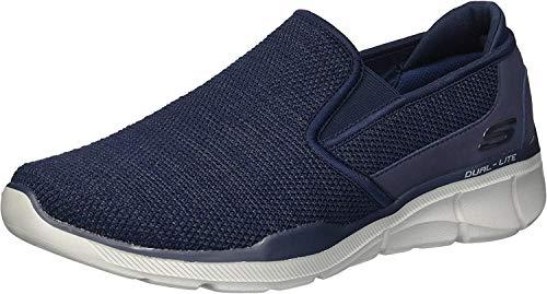 Skechers Men's Equalizer 3.0- Sumnin Slip On Sneakers, Blue (Navy Nvy), 7 UK (41 EU)