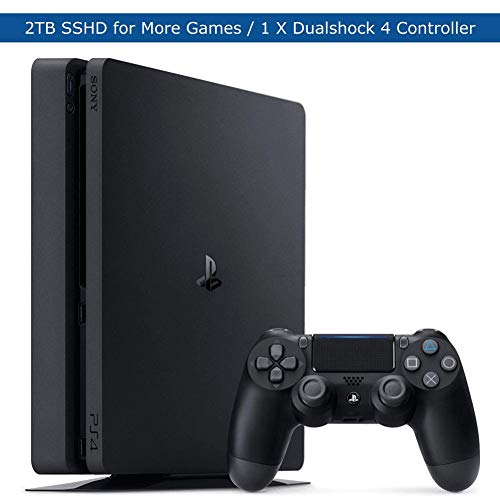 Sony Playstation 4 Slim Upgraded 2TB SSHD Video Game Console with...