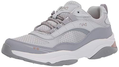 RYKA Women's Norda Walking Shoe Sneaker, Sleet 9.5 W US