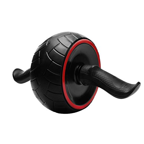 JAEZZIY Ab Roller for Abs Workout, Ab Roller Wheel Exercise Equipment for Core Workout, Ab Carver Roller for Home Gym, Ab Workout Equipment for Abdominal Exercise with Knee Mat