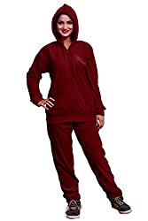 BOMBSHELL Winter Imported Velvet Tracksuit for Women and Ladies