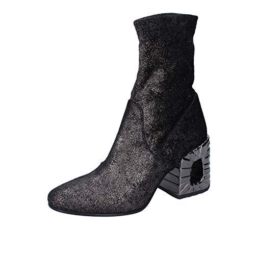 ELENA IACHI stiefeletten Damen textil schwarz 35 EU