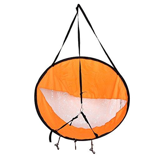 Voile de Kayak 42 pouces Voile de Vent Navigation Pliable Planche à Voile Accessoires Pagaie pour Kayak Canoë Bateaux Gonflable