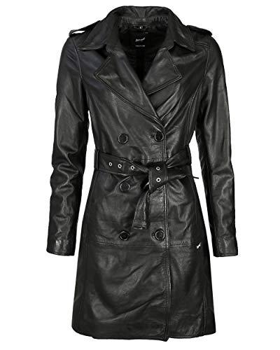 Maze Damen Trenchcoat Mit Bindegürtel Culima Black XL