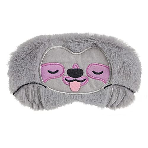 COSYOO Schlafmaske Plüsch Mode Eye Tönungen Nacht Augenbinde Augenmaske Eye Compress Maske Cartoon Lustig Niedlich Entspannen