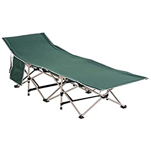 Outsunny Folding Camping Cot 26.5