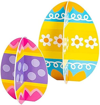 Limited price sale Easter Egg Slotted Centerpiece - Party Pieces Desk Dec New popularity 5 Decor