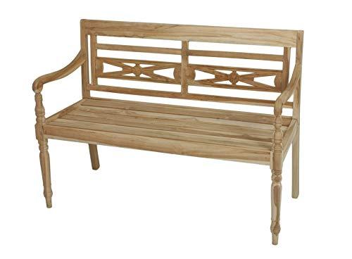 Teak Friesenbank, parkeerbank, tuinbank, hout, landhuisbank, houten bank, tuinbank
