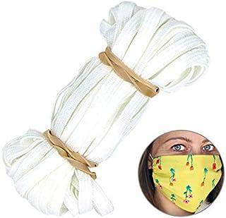 "10 Yards Thin Elastic Band for DIY Mask - 1/4"" Trim Spandex Make mask String"