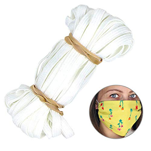 Quality Durable Elastic Band for face mask (1/4 Inch X 10 Yards)