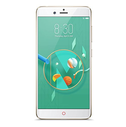 "Nubia Z17 Mini Smartphone, Qualcomm Snapdragon 652 Octa Core, 5.2"" FHD 1920x1080p, 4G, 13+13Mpx y Frontal 16Mpx, 4GB de RAM, 64GB de ROM, Oro"
