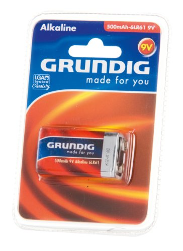 Grundig Alkaline Batterie (500mAh, 9V)