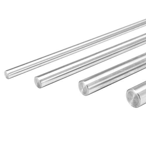 EsportsMJJ 6/8/10/12 mm diameter staaf lengte 400 mm stalen cilinder lineaire rail optische as - 12 mm