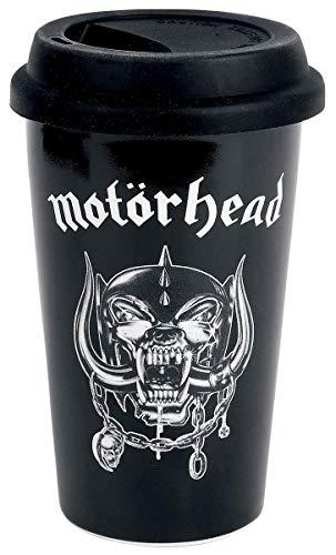 for-collectors-only Motörhead Tasse Reisebecher XL Kaffeetasse Warpig Logo Becher Trinkbecher Travel Mug Kaffeebecher Reisetasse