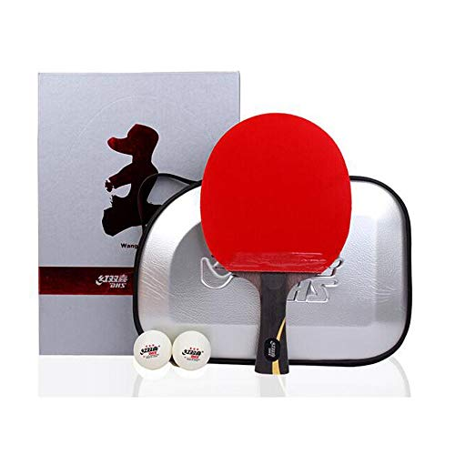 Great Features Of HENGTONGWANDA Table Tennis Racket, Wang Liqin Gift Boxed Table Tennis Racket, Doub...