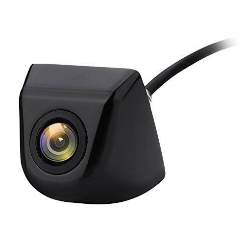 Podofo Rückfahrkamera 170 Degree Betrachtungswinkel Universal Wasserdichte HD für Auto Backup Kamera RV Truck (Schwarz)