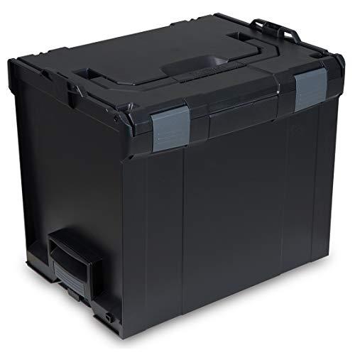L-BOXX® 374 Bosch Sortimo schwarz leer BSS Werkzeugkoffer Transportbox black