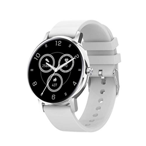 QLK L01 Touch Full Touch HD Pantalla Smartwatch Mujeres Bluetooth Call Heart Rate Monitor Sports Smart Watch Men para Android iOS,G