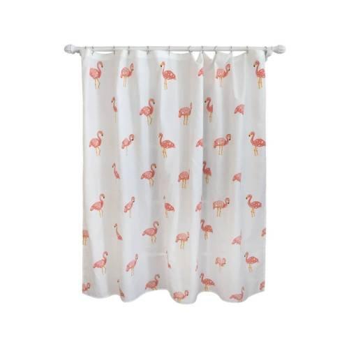 Flamingo Shower Curtain Ivory - Pillowfort153;