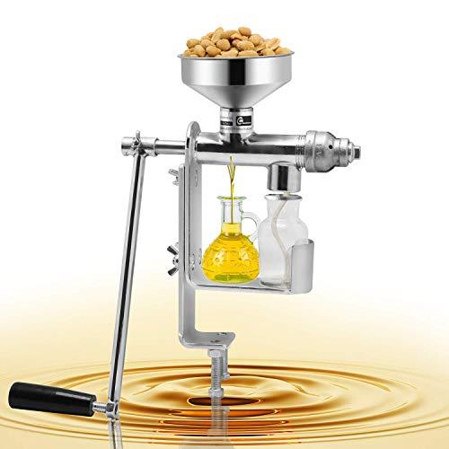 Manuelle Ölpresse Maschine Haushalt Öl Extraktor Erdnüsse Samen Öl Pressmaschine Expeller Öl Extraktor Maschine HY-03