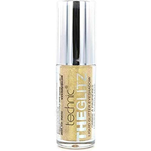 Technic The Glitz - Liquid Glitter - Oogschaduw - Gold