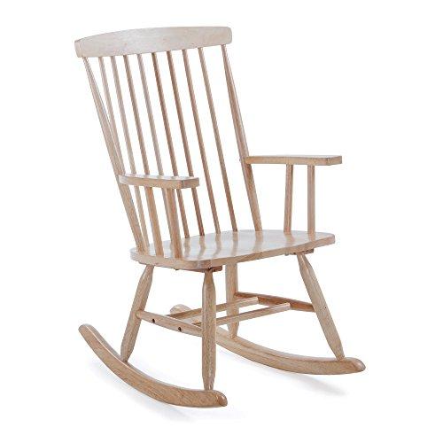 Kave Home – schommelstoel Tenzo van natuurlijk rubber