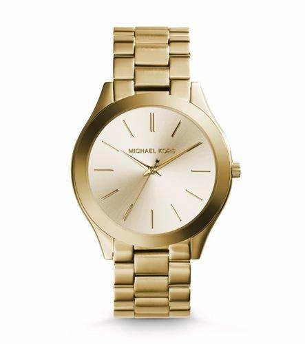 Michael Kors Reloj Analógico para Mujer de Cuarzo con Correa en Acero Inoxidable MK3179