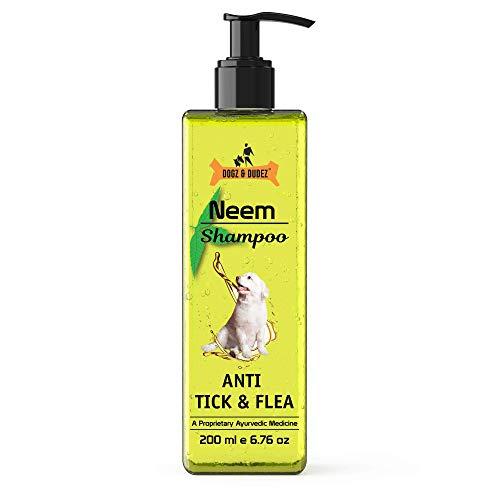 Dogz & Dudez Organic Neem Shampoo for All Breeds Dogs &...