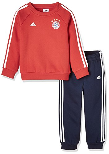 adidas FC Bayern München 3 Stripes Trainingsanzug Kleinkinder 74