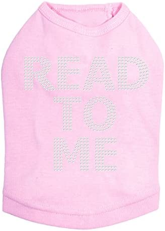 Read to Me Therapy Shirt Pink Indefinitely Dog XL Easy-to-use