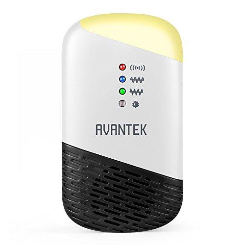 AVANTEK Ultrasuoni Repellente per Topi Ratti, Maggiore Efficacia con Onde Alternate in...