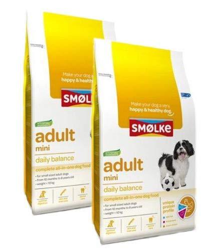 2x 12 KG Smolke adult mini hondenvoer
