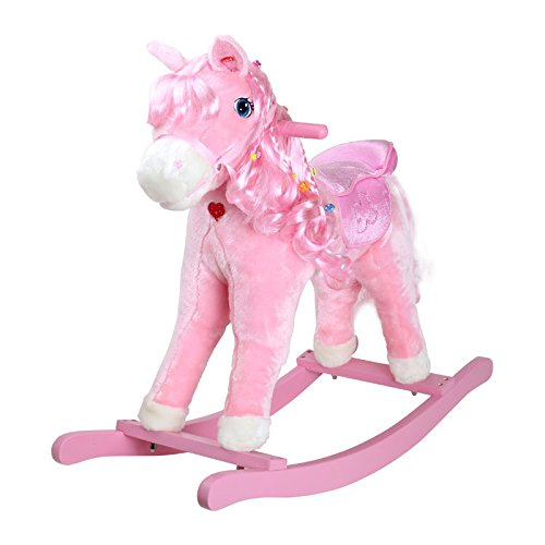 Small foot company - 4131 - Poney À Bascule - Pinky