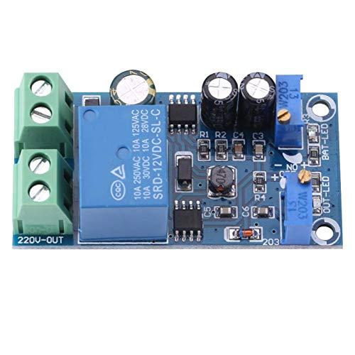 akozon batería Cargador Módulo Placa Cargador automático de baterías Cargador controlador–Módulo 12–24V Cargador descarga tarjeta Módulo (12V)