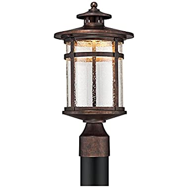 Callaway Rustic Bronze 16  High LED Post Light