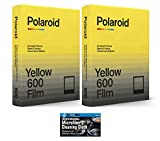 Polaroid Originals Black & Yellow Film for 600 and i-Type Instant Camera - Duochrome Edition - 2 Pack (16 Photos)
