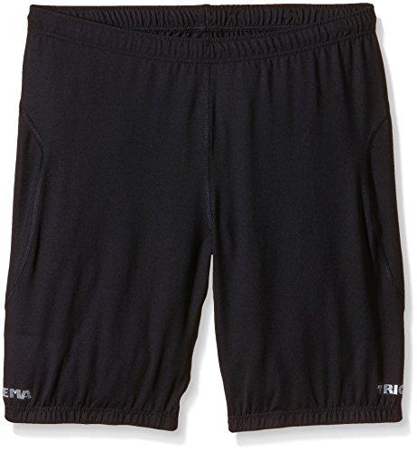 Trigema Damen Kurze Sport-Hose Shorts Sportifs, Noir (Schwarz 008), 48 (Taille Fabricant: XL) Femme