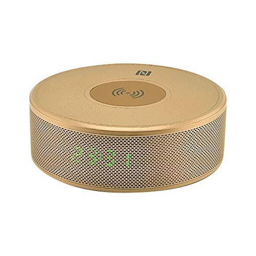 kashyk 2 in1 Bluetooth Lautsprecher schnelles drahtloses Ladegerät Bluetooth Lautsprecher eingebautes Mikrofon Telefon Ladegerät kompatibel mit Samsung mit iPhone