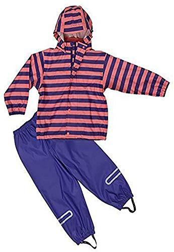 Elka 092511198116 Made in Europe Regenanzug, violett/pink, 116