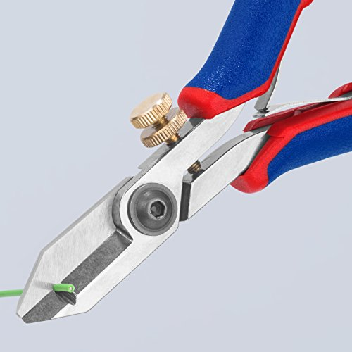 KNIPEX Tools - Electronics Wire Stripping Shears, Multi-Component (1182130)