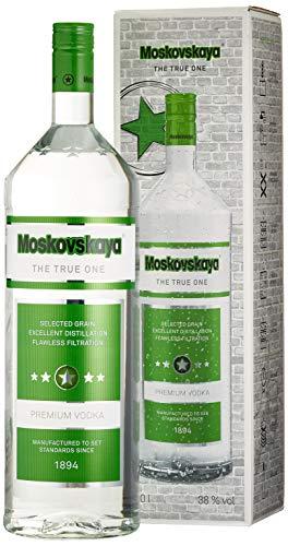 Moskovskaya 3-Liter-Großflasche Wodka (1 X 3 L)