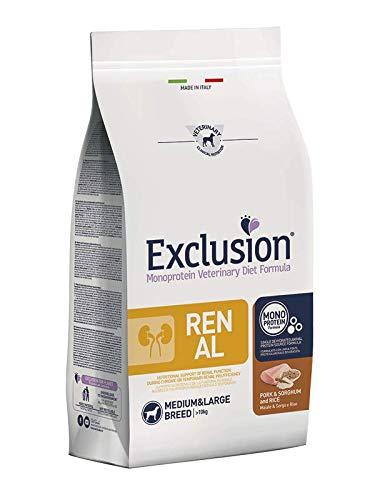 Exclusion Diet Renal Medium Large Adult Maiale, Sorgo e Riso 12kg